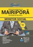 Apostila Prefeitura de Mairiporã SP 2019 Monitor Social - Editora solução