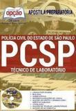 Apostila Preparatória Pc Sp - Técnico De Laboratório - Editora Opção