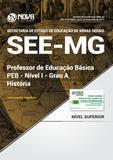 Apostila SEE-MG - Professor de Educação Básica - PEB - Nível I - Grau A: História - Nova concursos