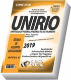 Apostila UNIRIO - Técnico de Assuntos Educacionais - Curso oficial