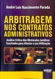 Arbitragem nos Contratos Administrativos - Juruá