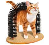Arco massageador para gatos escova em metal e plástico Purrfect Arch - Re