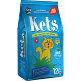 Areia Higiênica Kets para Gatos - 12kg - Alfapet