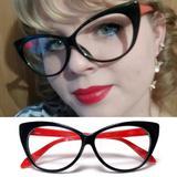Armação para Óculos de Grau com Formato de Gatinho - Várias Cores - Vinkin