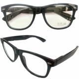 Armação para Oculos de Grau Unisex Preto - Oficina dos relogios
