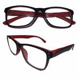 Armação para óculos de Grau Unisex Vermelha Acetato - Oficina dos relógios