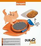 Arranhador Gato Brinquedo Durapets Peixe C/ Comedouro - Dura pets