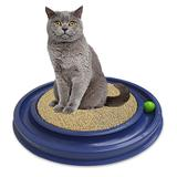 Arranhador para gatos Cat Pet Redondo Azul - Rb pet