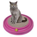 Arranhador para gatos Cat Pet Redondo Rosa - Rb pet