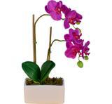 Arranjo Artificial Orquídea Falenópsis Lilás  35 cm - Kasacia