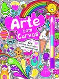 Arte com curvas - Crie desenhos incríveis com muitas curvas!