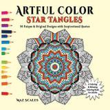 Artful Color Star Tangles - Fat dog publishing llc