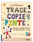 Arty Mouse - Trace, copie, pinte e recorte