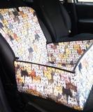 Assento Cat 2x1 Capa pet para carros - com cinto de segurança - King of pets