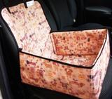 Assento dog 2x1 Capa pet para carros - com cinto de segurança - King of pets