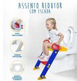 Assento Infantil Redutor com Escada Para Vaso Sanitário - Magazine rm