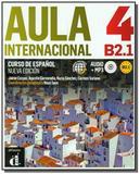 Aula Internacional 4 - Nueva Edicion: Libro del Alumno + Ejercicios + CD 4 (B2) - Difusion