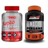 Aumento da Libido Metildrol 60 tabs + Maca Peruana 60 caps