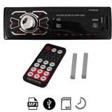 Auto Rádio MP3 Player Automotivo USB SD e AUX FM - First option