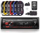 Auto Radio Pioneer Mvh-s118ui + Controle Longa Distancia Stetsom Sx2 500 metros