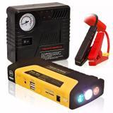 Auxiliar De Partida Emergência Powerbank Lanterna Compressor - Hamy