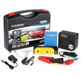 Auxiliar Partida Bateria Auxiliadora Portatil Veicular Carro Emergencia + Compressor de ar - Syc