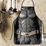 Avental divertido e personalizado: batman - Recanto da costura