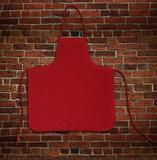 Avental liso oxford vermelho - tamanho grande - Recanto da costura