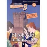 Aventuras Para 3 El Robo Del Manuscrito - Edelsa - disal