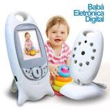 Babá Eletrônica Câmera sem Fio Visão Noturna LCD Digital 2mp - Luatek