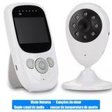 Babá Eletrônica Camera Video Monitor Visão noturna Luatek