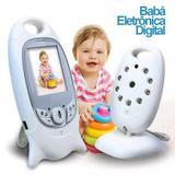Babá Eletrônica Canção de Ninar Visão Noturna Câmera LCD 2mp - Luatek