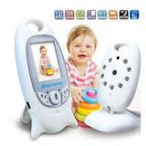 Babá Eletrônica Digital Com Video E Visão Noturna Termômetro - Bcs