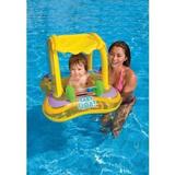 Baby bote inflavel kiddie com cobertura (81x66cm) - Intex