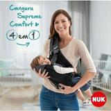 Baby Carrier NUK Supreme Comfort 4 em 1 - Olhando para mamãe ou papai