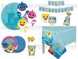 Baby Shark * Kit Decoração Festa Completa para 08 Crianças - Cromus