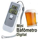 Bafometro Digital LCD C/ Relogio Alarme e Termometro - Alba brand