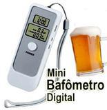 Bafometro Digital LCD C/ Relogio Alarme e Termometro - Alba eletronicos