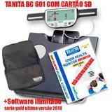 Balança de Bioimpedancia BC 601 Tanita c/ Mochila +Software ilimitado