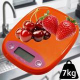 Balanca de precisao digital  7 kgs LARANJA CBRN01156 - Commerce brasil