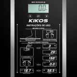 Balança Digital 150kg Eletrônica LCD para Banheiro Academia Ison Kikos Fitness SK Preto