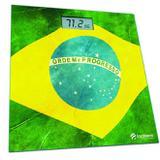 Balança digital banheiro bandeira do brasil Incoterm