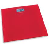 Balança digital para banheiro Hauskraft vermelha 180 kg - 24927