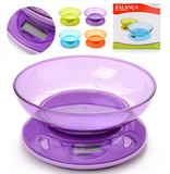 Balanca Digital Para Cozinha 5Kg Colors - Wellmix