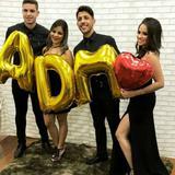 Balão Adm Curso Formatura Dourado Metalizado 40 cm - Festas  decor