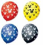 Balão Bexiga Decorada Orelha de Rato N 9 pct com 25 unid - São roque