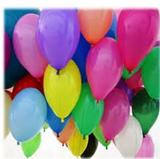 Balão Bexiga nº 7 liso tipo premium Ideatex 500 unidades cores sortidas - Produto nacional
