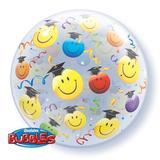 Balão Bubble Smile Formatura - 1 unidade - Qualatex