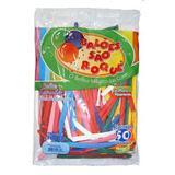 Balão Canudo Sortido c/50 - São Roque