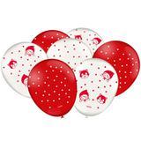 Balão de Látex Chapéuzinho Vermelho 25 unidades Festcolor - Festabox